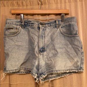 Vintage Calvin Klein Lightwash Denim Jean Shorts
